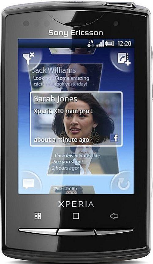 Перепрошивка Xperia X10